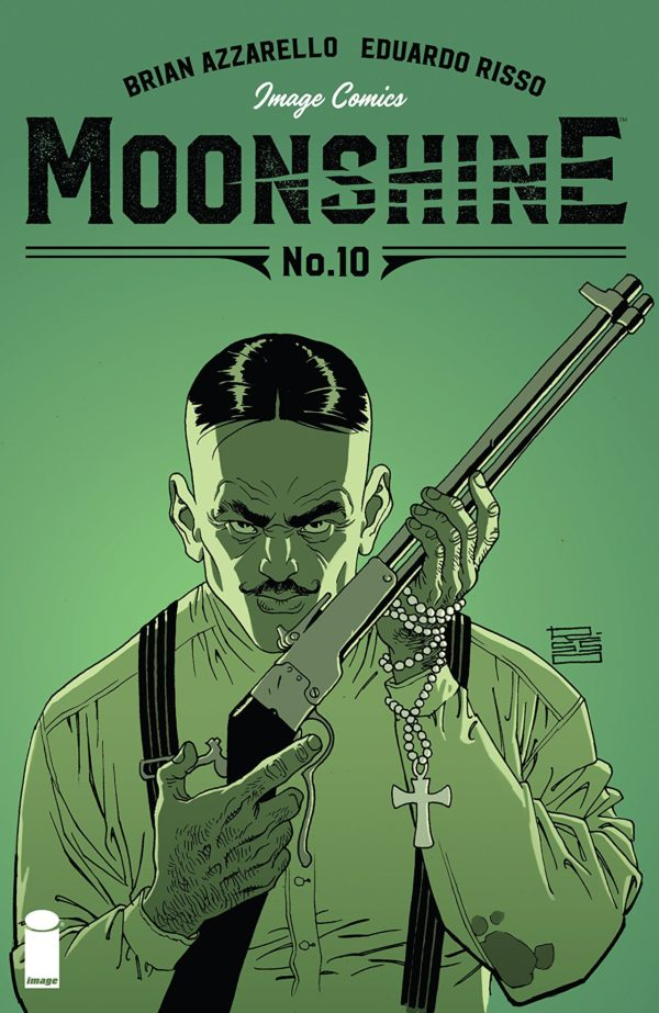 Moonshine #10 cover by Eduardo Risso