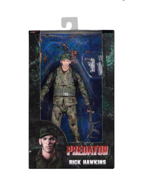 NECA Predator Hawkins Figure Boxed
