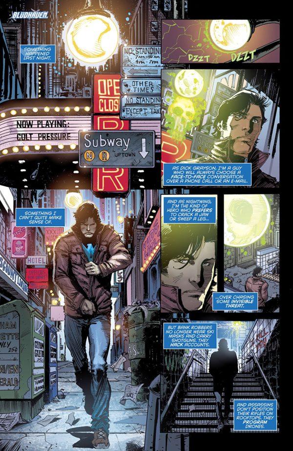 Nightwing #44 art by Chris Mooneyham and Nick Filardi