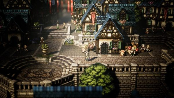 Octopath Traveler,new game releases