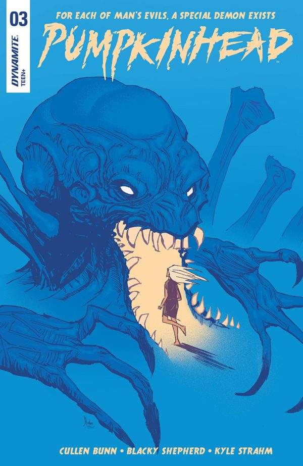 Pumpkinhead #3 cover by Blacky Shepherd