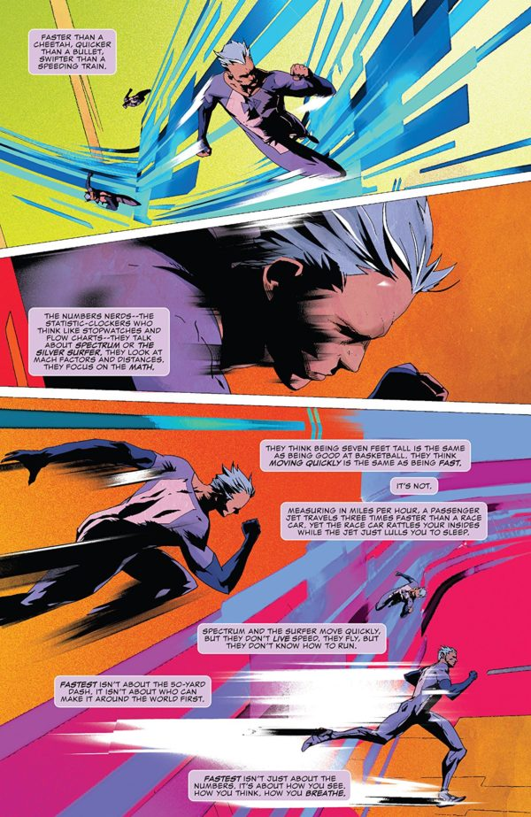 Quicksilver: No Surrender #1 art by Eric Nguyen and Rico Renzi