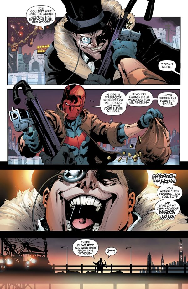 Red Hood and the Outlaws #22 art by Dexter Soy and Veronica Gandini