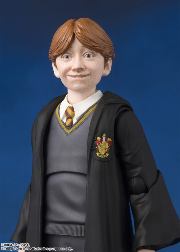 SH Figuarts Harry Potter Ron 7