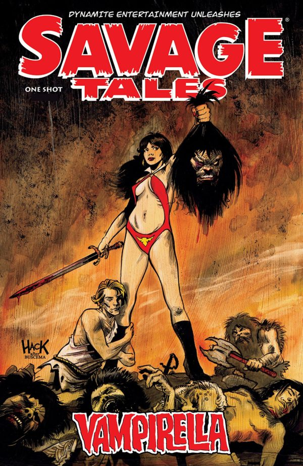 Savage Tales: Vampirella One-Shot Cover by Robert Hack