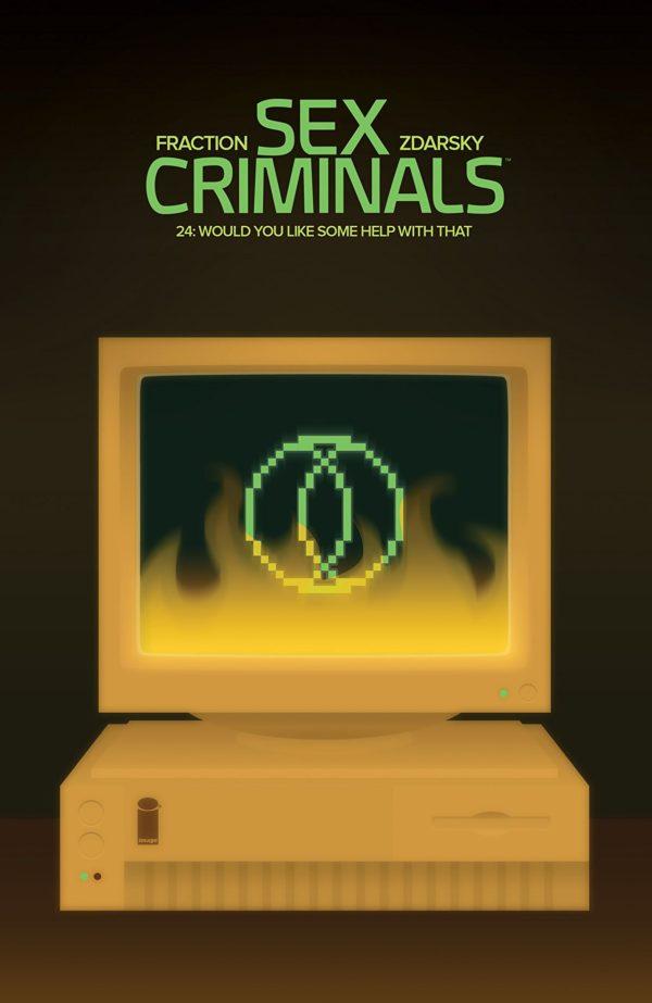 Sex Criminals #24 cover by Chip Zdarsky