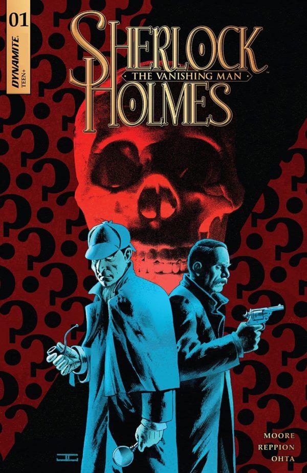 Sherlock Holmes: The Vanishing Man #1 cover by John Cassaday