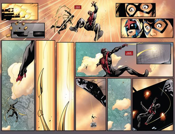 Spider-Man #240 art by Oscar Bazaldua and Laura Martin