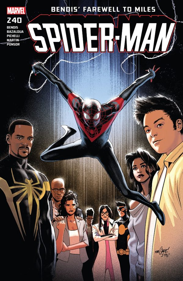 Spider-Man #240 cover by David Marquez and Justin Ponsor