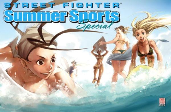 Street Fighter Summer Sports Special