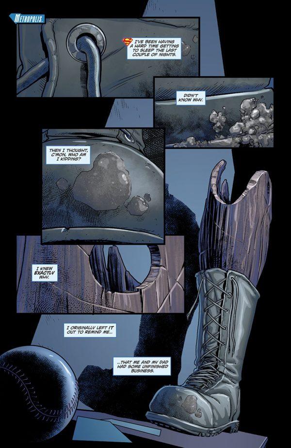 Superman Special #1 art by Scott Godlewski and Gabe Eltaeb