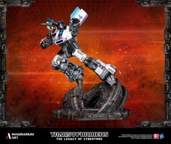 Transformers Autobot Jazz Statue 2