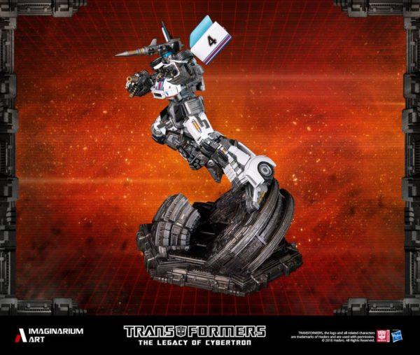 Transformers Autobot Jazz Statue 3