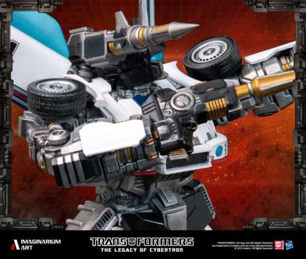 Transformers Autobot Jazz Statue 8