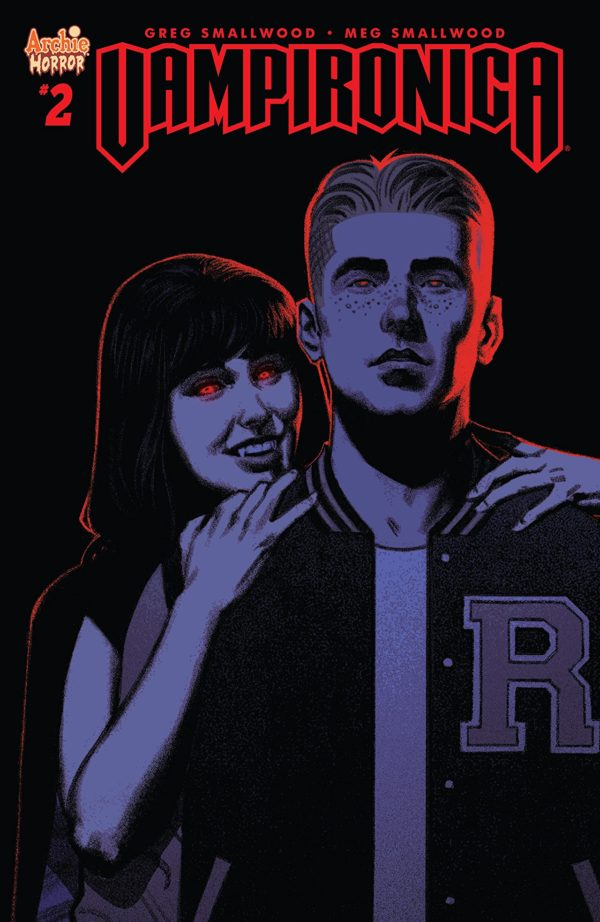 Vampironica #2 cover by Greg Smallwood