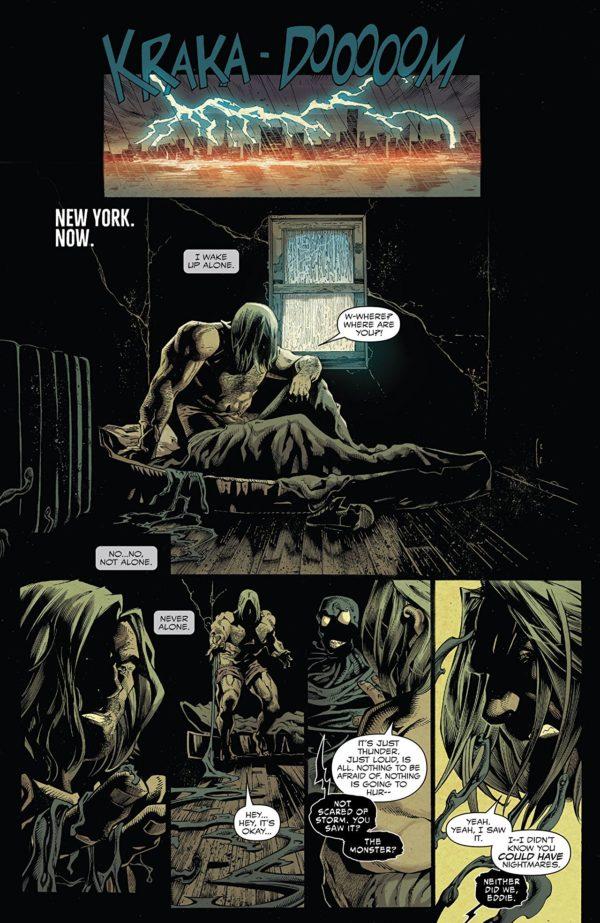 Venom #1 art by Ryan Stegman, JP Mayer, and Frank Martin