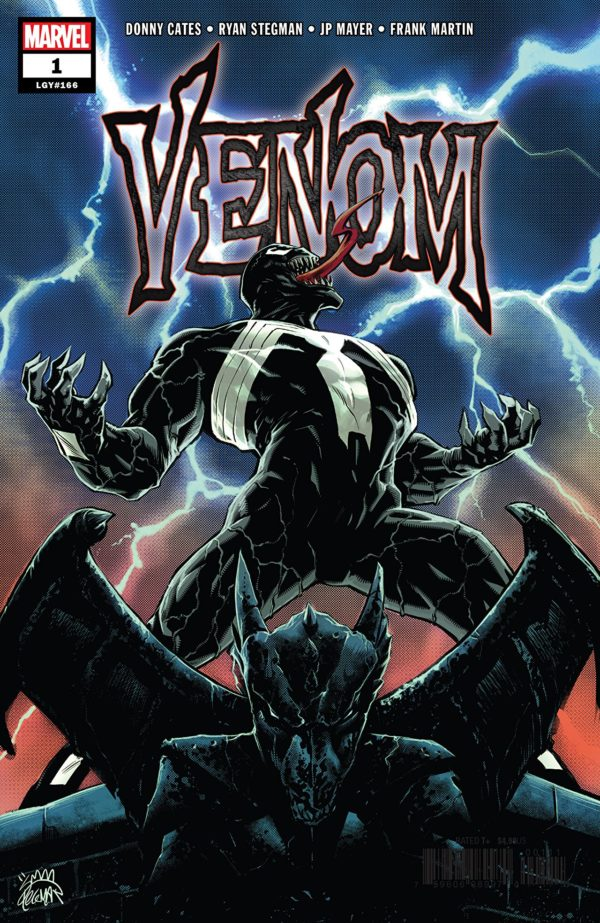 Venom #1 cover by Ryan Stegman