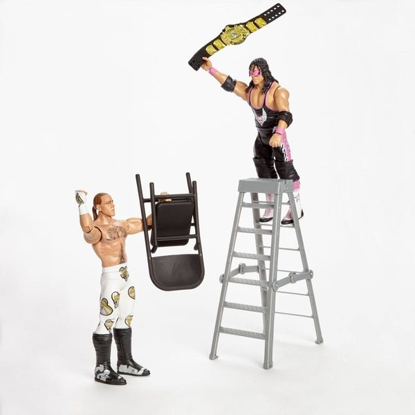 WWE Mattel hall of Champions Battle Pack Shawn and Bret