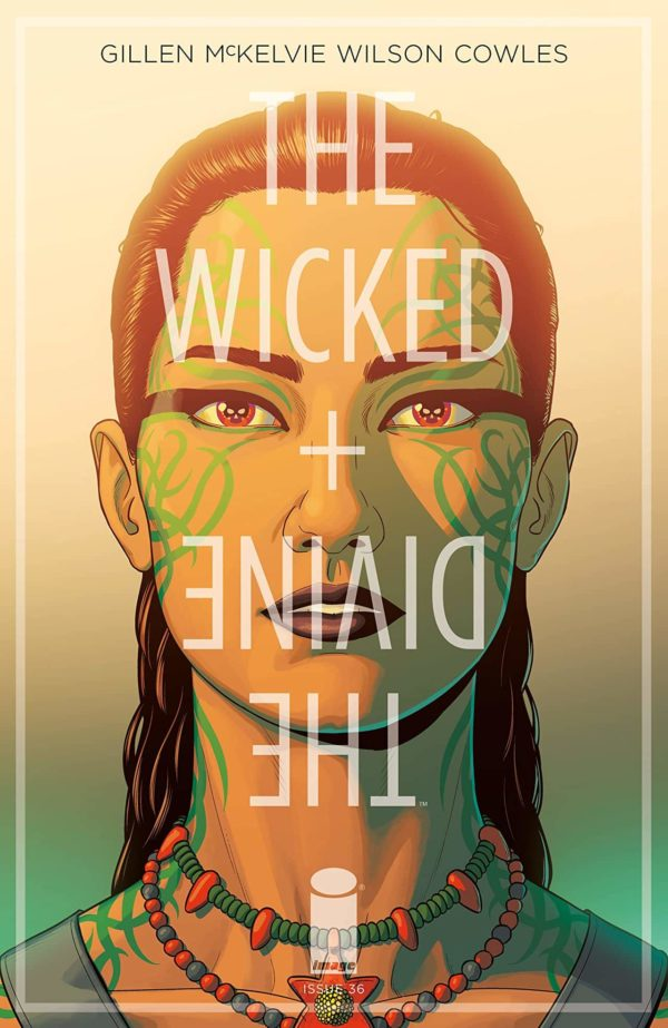 The Wicked + The Divine #36 cover by Jamie McKelvie and Matt Wilson