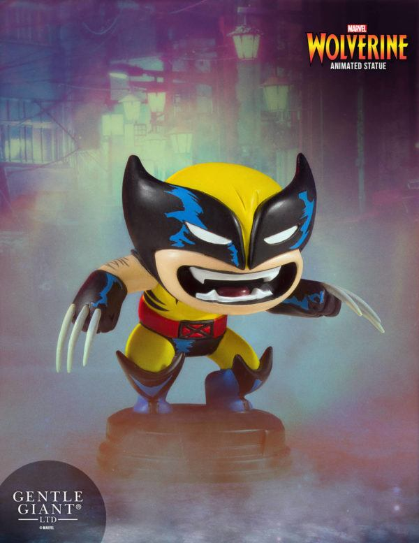 Wolverine Marvel Animated Statue Gentle Giant 1