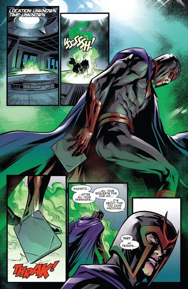 X-Men: Blue #28 art by Marcus To and Rain Beredo