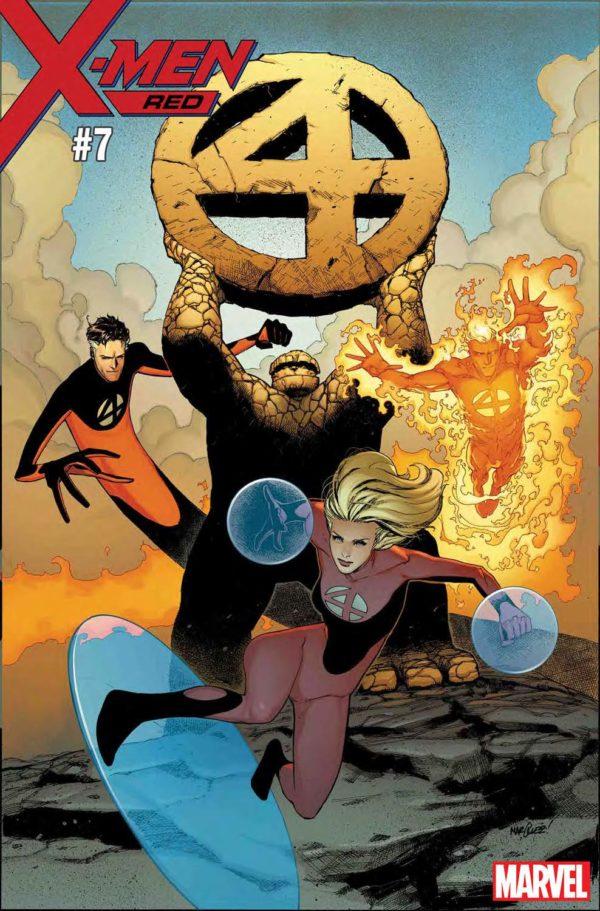 Fantastic Four x-men red