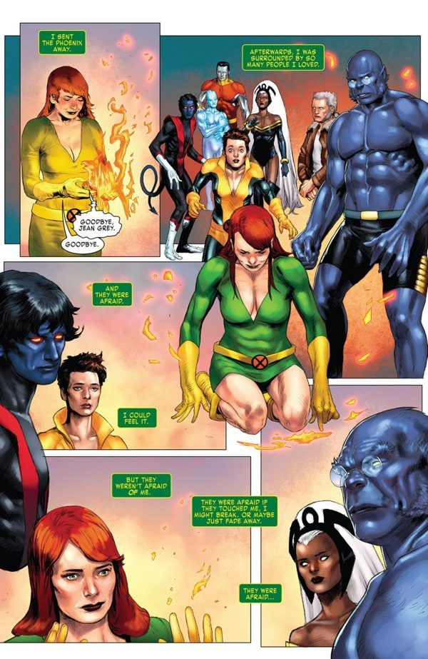 X-Men: Red Annual #1 art by Pascal Alixe and Chris Sotomayor