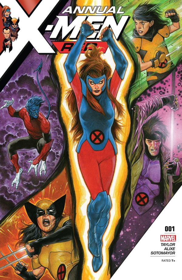 X-Men: Red Annual #1 cover by Travis Charest