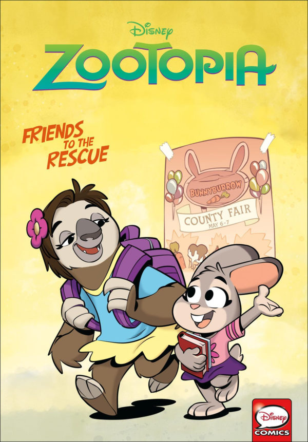 zootopia graphic novel