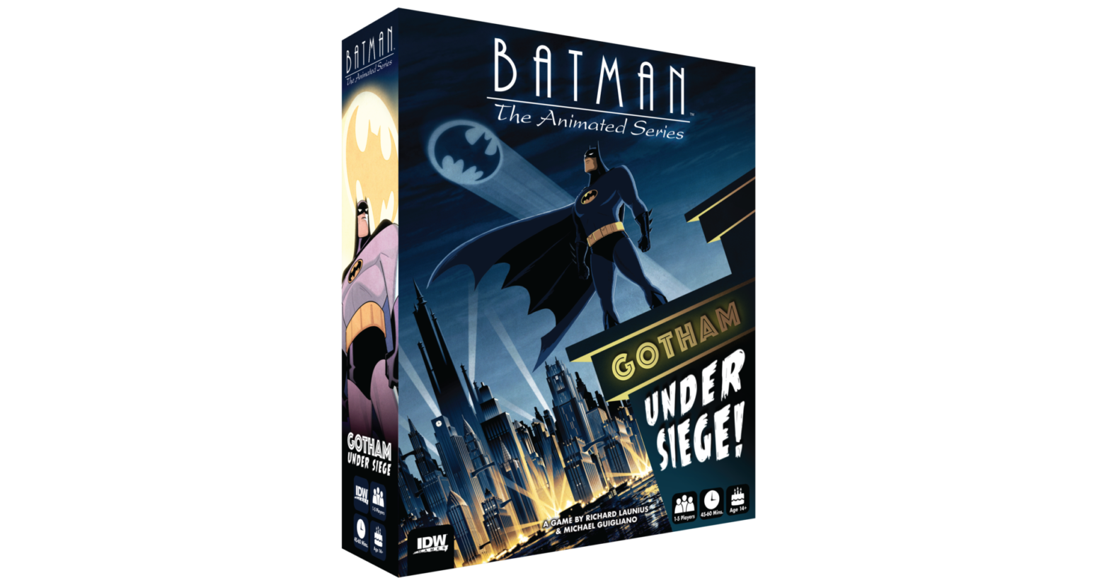 batman: the animated series board game