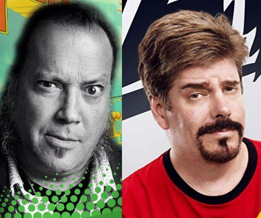 Comic Book Men's Robert Bruce and Mike Zapcic