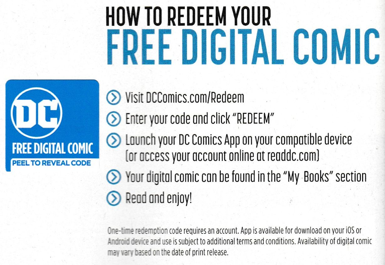DC Comics Drops 'Buy Physical, Pay Digital' Codes as Standard