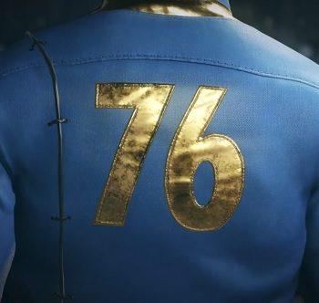 Fallout 76 announcement photo