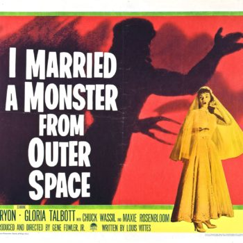Married a Monster from Outer Space poster
