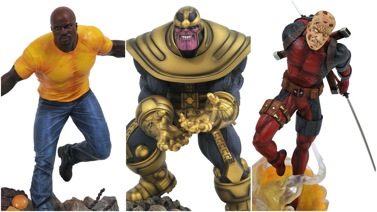 GameStop Reveals New Marvel Gallery Statue Exclusives