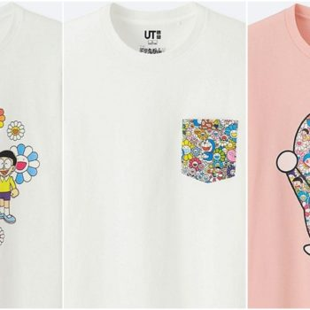 Doraemon uniqlo line 2018