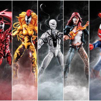 Marvel Legends Venom Wave Collage