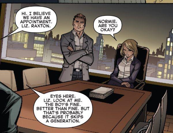 Amazing Spider-Man #800 panel