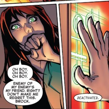 Amazing Spider-Man #800 interior panel