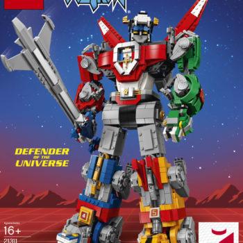 LEGO Ideas Voltron Set 17