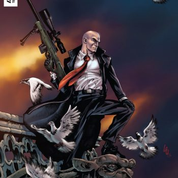 Agent 47: Birth of a Hitman #6 cover by Jonathan Lau and Omi Remalante