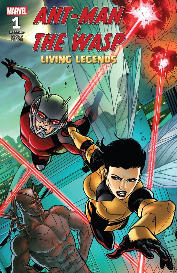 Ant-Man and the Wasp: Living Legends #1 cover by Andrea di Vito and Laura Villari