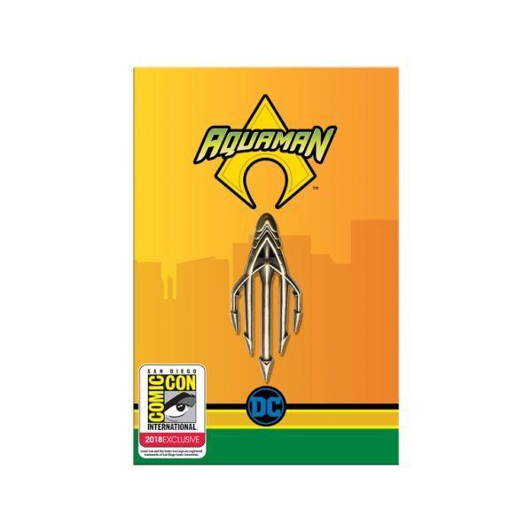 Aquaman Pin SDCC