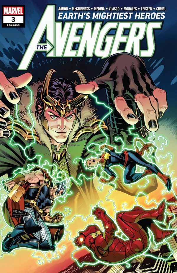 Avengers #3 cover by Ed McGuinness