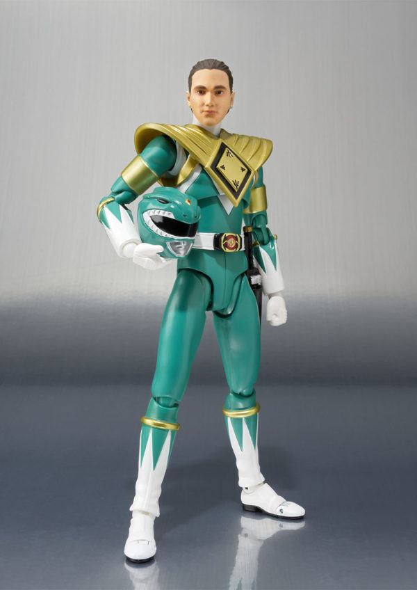 Bandai Tamashii Nations Green Power Ranger SDCC