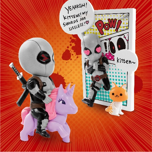 Beast Kingdom X-Force Deadpool SDCC Exclusive