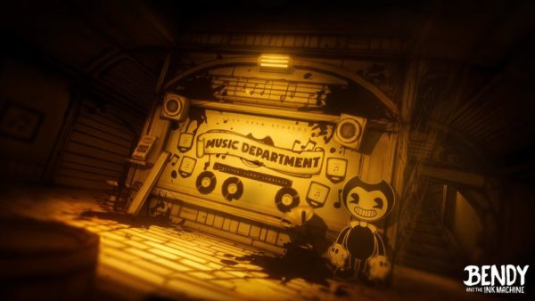 bendy and the ink machine on xbox is gorgeous and immersive