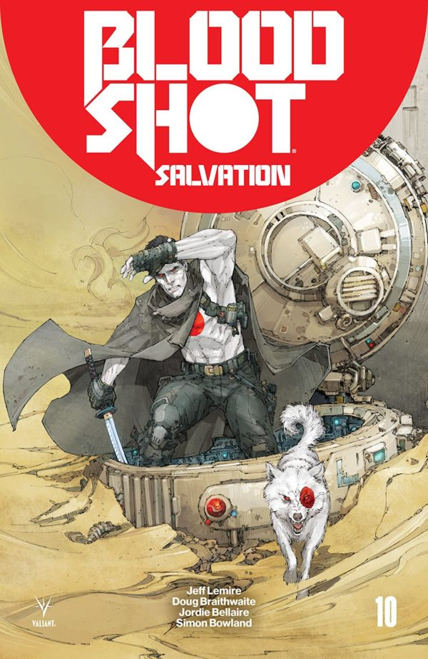 Bloodshot Salvation #10 cover by Kenneth Rocafort