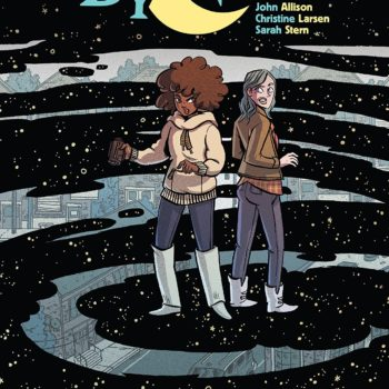 By Night #1 cover by Christine Larsen