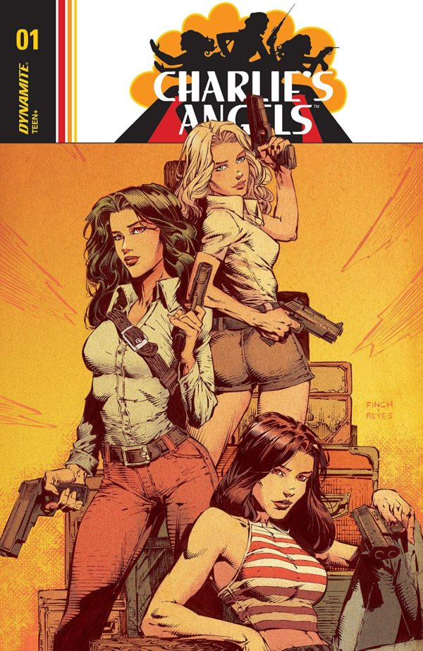 Charlie's Angels #1 cover by David Finch